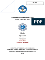 OSK 2018 Kimia (Kunci)