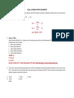 Soal Latihan Optik Geometri