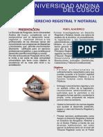 Maestria Derecho Registral