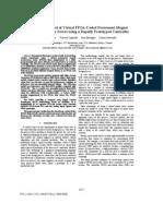 Closed-Loop Control of Virtual FPGA-Coded Permanent Magnet