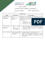 Agenda de Trabajo Geogebra INAM