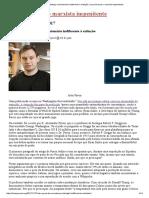 Alex Pyron, o Biólogo Evolucionário Indiferente à Extinção _ Louis Proyect_ o Marxista Impenitente
