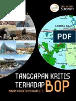 Tanggapan Kritis Terhadap Badan Otorita Pariwisata (BOP)