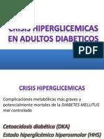 Crisis Hiperglicemicas en Adultos Diabeticos