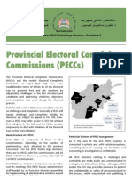 AFGHANISTAN Electoral Complaints Commission 2010 Factsheet 3
