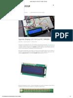 Ligando Display LCD 16x2 Ao PIC 16F628A - FilipeFlop