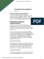 Direito Administrativo Para a Engenharia - Medium