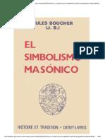 12.- El Simbolismo Masonico