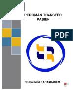 Cover Dan Daftar Isi Transfer Pasien