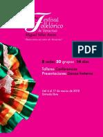 """Consulta la programación completa del 7° Festival Folklórico de Veracruz """"Miguel Vélez Arceo"""""""