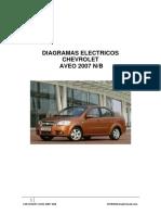 Chevrolet Aveo 2007 Diagramas Electricos