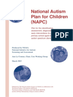 National Autism Plan for Children Full Report