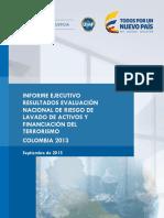 Informe Ejecutivo ENR Colombia 2013