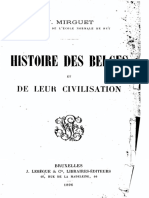 V.mirguet - Histoire Des Belges