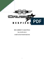Ficha Tecnica Cruiser 125