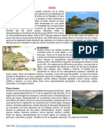 Austria, Ecosistema, Flora y Fauna