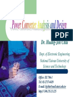 Power Converter Analysis and design