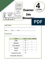 4to Grado - Examen 2