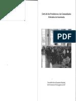 Carta de Los Presbíteros a Las Comunidades Eclesiales de Guatemala. Con Motivo de Su Encuentro Nacional Del 31 de Julio Al 02 de Agosto de 2017