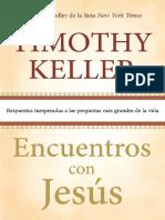 Encuentros Con Jesús - Timothy Keller