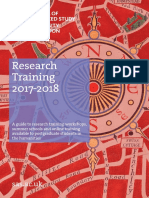 SAS Research Training Brochure 2017-18