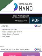OSM Architecture