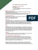 Analise de Ar Relatorio Medição II