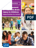 The Management of Traumatic Brain Injury in Children