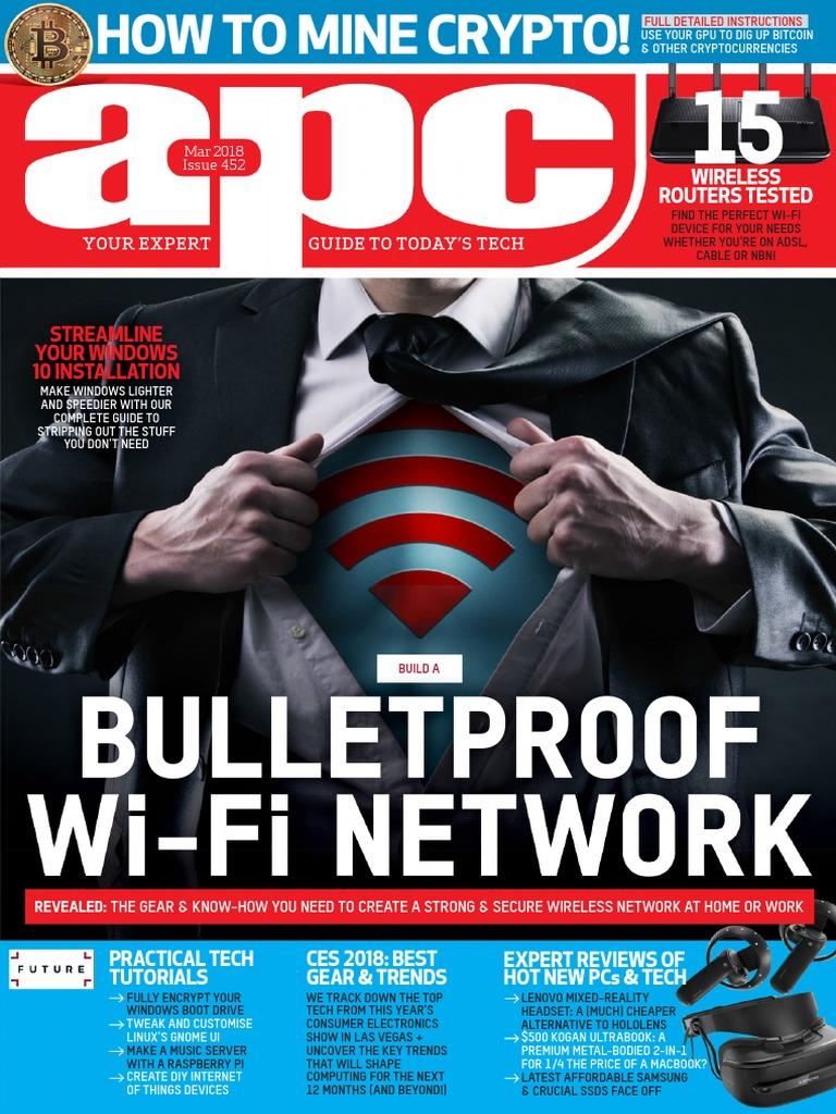 APC Computer Magazine Issue 452 March 2018   Windows 10