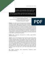 Efecto Del Uso de La Melaza y Me Sobre La Taza de Descomposicion de La Hoja de Caña by Sanclemente Et Al