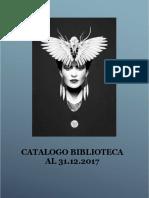 Catalogo Biblioteca Al 2017 Alfabetico