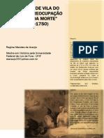 2009 - Mulheres de Vila Do Carmo - A Preocupacao Com a Boa Morte - Regina Araujo