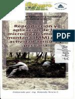 Reproduccion y Aplicacion de Mm en La Actividad Agricola y Pecuaria