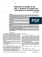 The chemical behaviour of cyanide in the extraction of gold 1 Thermal CN degradation.pdf