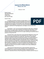 Letter from Rep. Torres and Rep. Engel Regarding Trump and Panamanian Money Laundering