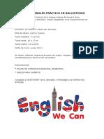 Taller de Inglés Práctico en Ballesteros - Radio
