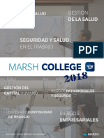 Marsh College 2018