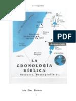 La Cronologa Biblica - Luis Diez Encina