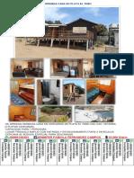 Se Arrienda Casa en Playa El Tebo