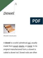 Dowel - Wikipedia
