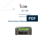 Icom IC-735 Instruction Manual