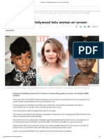 100 Women_ How Hollywood Fails Women on Screen - BBC News