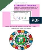 Elementos de La Radicación