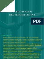 Clase10 Subdivision Deuteromicotina III EXAMEN