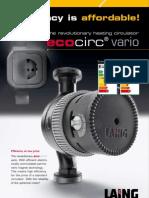 Laing Heating Circulator Ecocirc Vario[1]