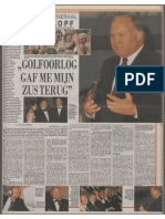 Interview Schwarzkopf, De Telegraaf 1991