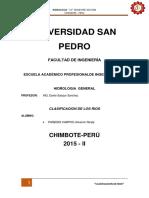 Clasificación de Los Ríos
