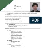 Kim Daryl B. Nulud - Curriculum Vitae