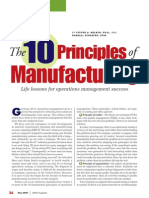 10 principles of manufacturing
