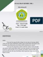 INFEKSI SALURAN KEMIH ( ISK ).pptx